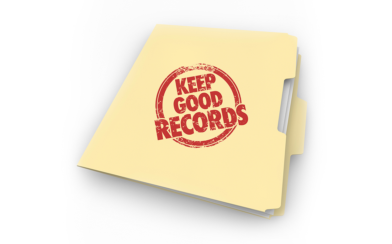 Keep your tax records
